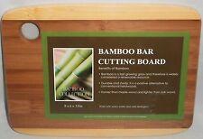 """Bamboo Bar Cutting Board  8"""" x 6"""" x 3/8"""""""