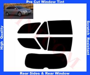 Toyota Avensis 5D Est 03-06 Pre-Cut Window Tint 5%-50% Rear Window & Rear Sides
