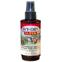 Ivy Dry Super Anti Itch Pain Relief Spray, For Skin Irritation, 6 oz New