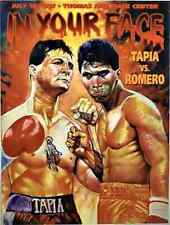 JOHNNY TAPIA vs DANNY ROMERO 8X10 PHOTO BOXING POSTER PICTURE