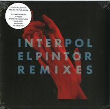 INTERPOL EL PINTOR (REMIXES) VINILE LP CLEAR RECORD STORE DAY 2016 NUOVO