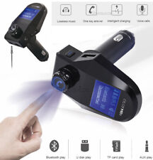 Wireless Bluetooth Adapter FM Transmitter USB Car Charger Handsfree Calling Kit