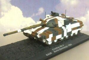 ATLAS TANK 1/72 BRITISH ARMY OF THE RHINE (BAOR) CHIEFTAIN MKV GERMANY 1984