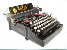 Antique 1912 Royal Model 5 Series Working Vintage Typewriter  #132490-5