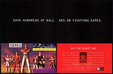 TEKKEN__Original 1995 print AD / game promo__NAMCO / PlayStation advertisement