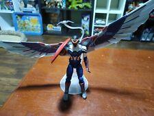 Marvel Legends Captain America Wings Baf complete Sam Wilson Disney + Figure
