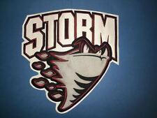 Guelph Storm OHL CHL Hockey CCM  Maska Iron On Front Jersey Crest Patch A