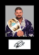 BOBBY ROODE #2 (WWE) Signed (Reprint) Photo A5 Mounted Print - FREE DELIVERY