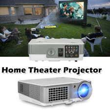 HD LED Video Projector 7000:1 Home Theater 1080p Movie Backyard Night HDMI*2 USB