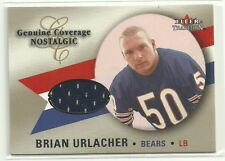 2000 Fleer Genuine Coverage Nostalgic BRIAN URLACHER Rc Jersey Chicago Bears HOF