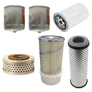 Filter Kit Fits Case 580B w/L 4 3.1L 3081cc Engine