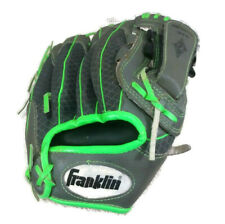 "Franklin Shok Sorb  10.5 ""  Model 22756 Youth Baseball Glove, Bright Green"