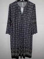 NY Collection Women's Plus Printed Shift Dress NWT Size 1X MSRP $70
