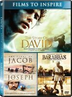 Barabbas / The Story of David / The Story of Jacob and Joseph [New DVD