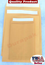 "250 PCS 9X12"" Self Seal Paper Envelope Mailer Pouch Courier Bag Mailing Postal"