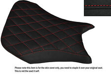 GRIP VINYL RED DIAMOND ST CUSTOM FITS BMW S 1000 R 14-16 NAKED FRONT SEAT COVER