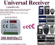 Motorlift / HOMENTRY compatibile 2-canaux récepteur pour 433,92Mhz télécomande