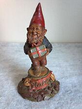 Tom Clark Happy Gnome #88 Christmas Edition Vintage Retired Sculpture Decor