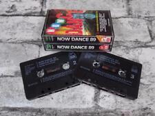 NOW DANCE 89 - Various / Cassette Tape / Fatbox / Double / 1152