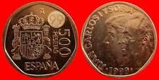 500 PESETAS JUAN CARLOS I 1999 SIN CIRCULAR ES ESPAÑA