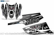 Decal Graphic Kit Arctic Cat FireCat F5,F6,F7 Sled Sabercat Snowmobile Wrap SLVR