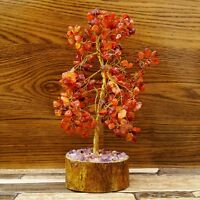 Multi Stone Tree Reiki Gems Spiritual Feng Shui Vastu Table Decor