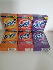 SunKist Orange- Strawberry-Grape SinglesTo Go Drink  36 Packs SUGAR FREE