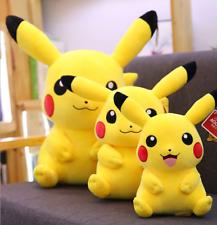 Pokemon Soft Plüschtier  Lächelndes Pikachu Soft Toy Puppe Stofftiere Geschenk^