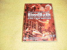 WWE BLOOD BATH MOST INCREDIBLE STEEL CAGE MATCHES wrestling 2 DVD as NEW NTSC R1