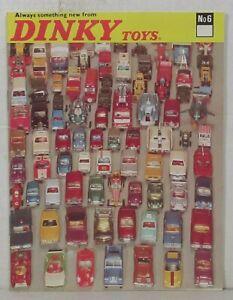 1970 Dinky Toys catalog (No. 6)