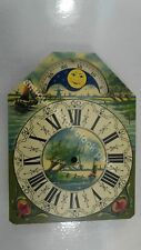 DUTCH CLOCK SMALL FRIESIAN TAIL OR SCHIPPERTJE HANDPAINTED REPLACEMENT DIAL 4