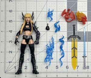 "1/12 scale Marvel Legends 6"" figure series Walgreens Exc X men New Mutants Magik"