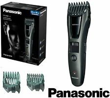 PANASONIC MEN CORDLESS BEARD HAIR TRIMMER CUTTING SET GROOMING KIT CUTTER SHAVER