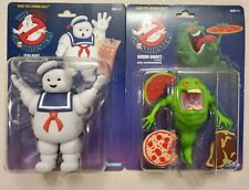 Kenner The Real Ghostbusters Green Ghost Slimer & Stay Puft Marshmallow Man NEW