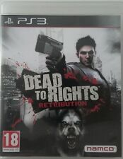 Dead To Rights Retribution. Ps3. Fisico. Pal Es