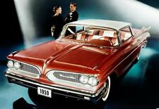 1959 Pontiac Bonneville 4 door Hardtop, Refrigerator Magnet, 40 Mil