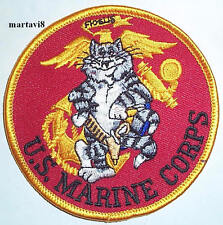 US.Marines F-14 Tomcat Cloth Badge / Patch (F14-18)