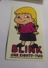 BLINK 182 STICKER NEW 1999 VINTAGE OOP RARE COLLECTIBLE