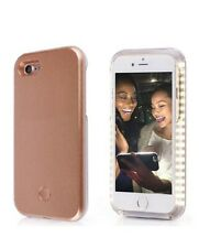 iPhone X/xs Case, LED Illuminated Selfie Light Cell Phone Case [PINK]💖