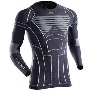 X-BIONIC Man Moto Energizer Summerlight Shirt Long Sleeve Motorrad Unterwäsche