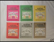 The Keyboard Accompaniment Piano Course 6 Book Set w/cds Gayle MacAulay Dunsmoor