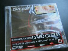 "DAVID GUETTA ""Just A Little More Love"" NEW & SEALED CD / GUM PROD - 127072 /2002"