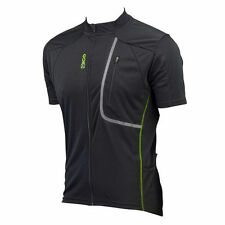 Abbigliamento verde in maglia per ciclismo taglia XL