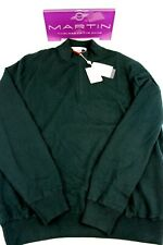 MARTIN 100% Zegna Baruffa Italian Merino Sweater-1/4 Zip Collar WINDBLOCKER