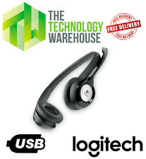 Logitech USB Wired Headset H390 with Noise Cancelling Microphone -981-000406