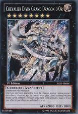 Chevalier Divin Grand Dragon D'Or-SHSP-FR056 Lumière Guerrier XYZ Effet Niveau 8