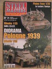 STEEL MASTERS n° 71 Char LECLERC. Raid sur Saint Malo. Tracteur d'artillerie CP7