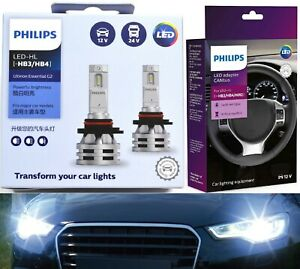 Philips Ultinon LED G2 Canceller 9005 HB3 Two Bulbs Head Light Hi Beam Bright