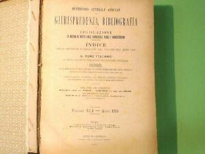 REPERTORIO GENERALE ANNUALE DI GIURISPRUDENZA BIBLIOGRAFIA E LEGISLAZIONE 1916