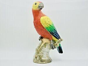 Antique KPM Berlin Porcelain Parrot